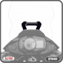 Suporte para GPS Scam Preto - Versys 300 X - Kawasaki - Super Moto Shop