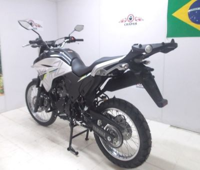 Base / Suporte Chapam em Chapa Preto - Lander XTZ 250 ano 2019 em Diante - Yamaha