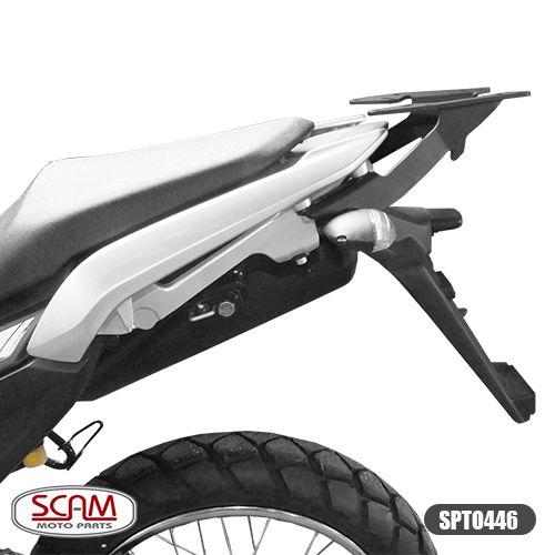 Bagageiro / Base Scam para Bauleto Traseiro - Lander 250 ABS ano 2019 em Diante - Yamaha