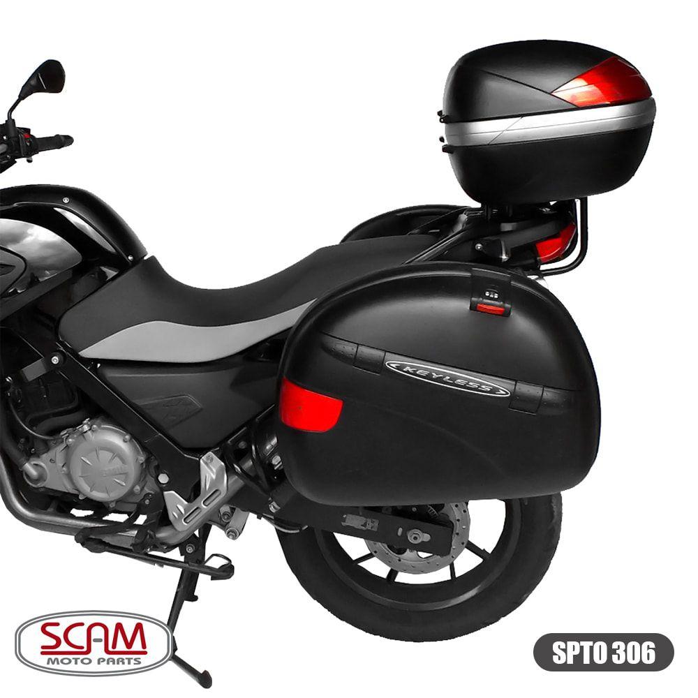 Bagageiro / Base Scam para Bauleto Traseiro MONOLOCK - GS 650 G - BMW