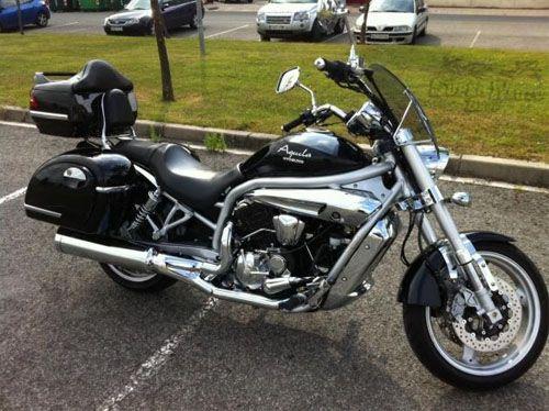 Baú / Bauleto (Alforge) Lateral (PAR) + Suporte Bult Modelo MU 43 Litros - Motos Harley Davidson