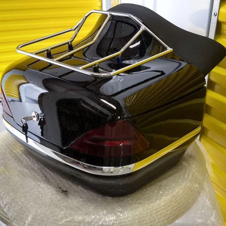 Baú / Bauleto (Alforge) Traseiro ( Sem Suporte) Bult Modelo DB 40 Litros - Motos Harley Davidson