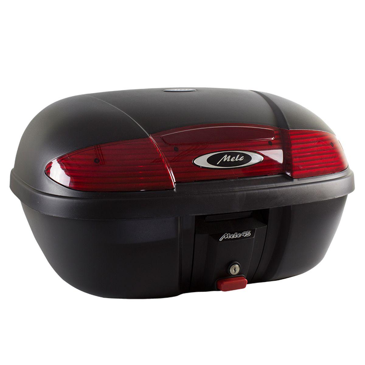 Bauleto / Baú Traseiro / Top Case Modelo MELC 45 Litros - Universal