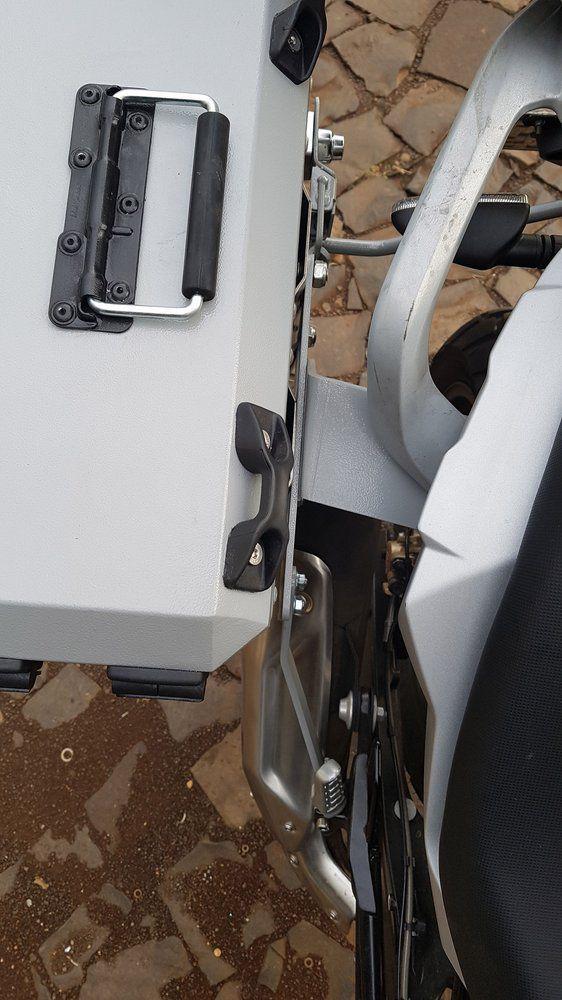 Bauletos / Baús Laterais / Side Case Modelo Livi 35 Litros PAR + Suporte Lateral - G 310 GS - BMW
