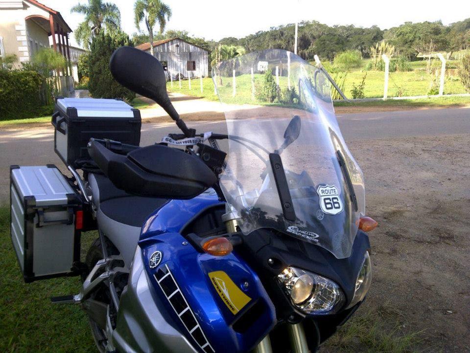 Bolha / Parabrisa Criativa Acessórios Modelo Fixa - Super Tenere 1200 2012 até 2013 - Yamaha
