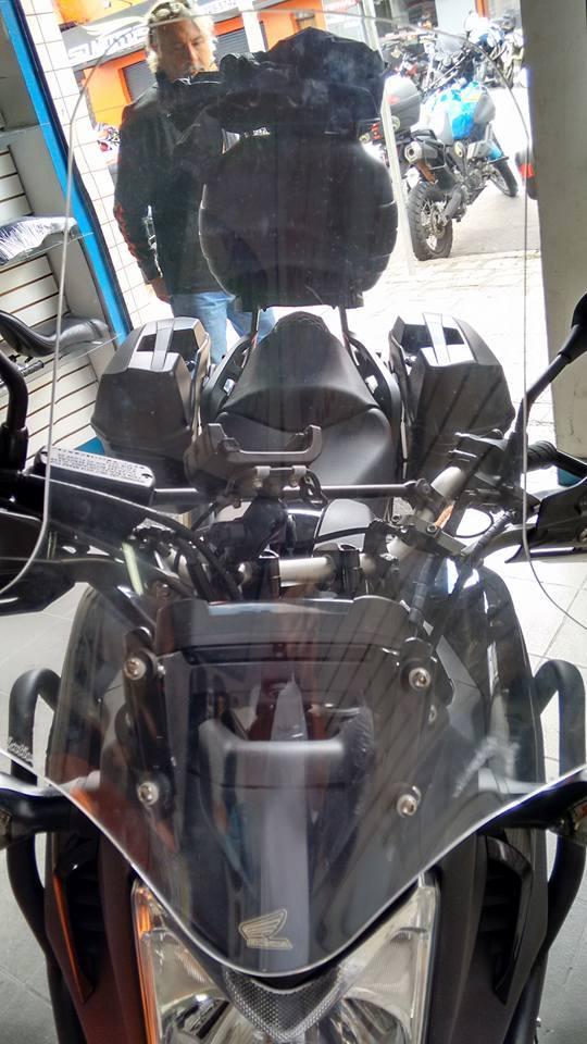 Bolha / Parabrisa Criativa Acessórios Modelo Alongada - NC 700 / 750 2013 até 2015 - Honda