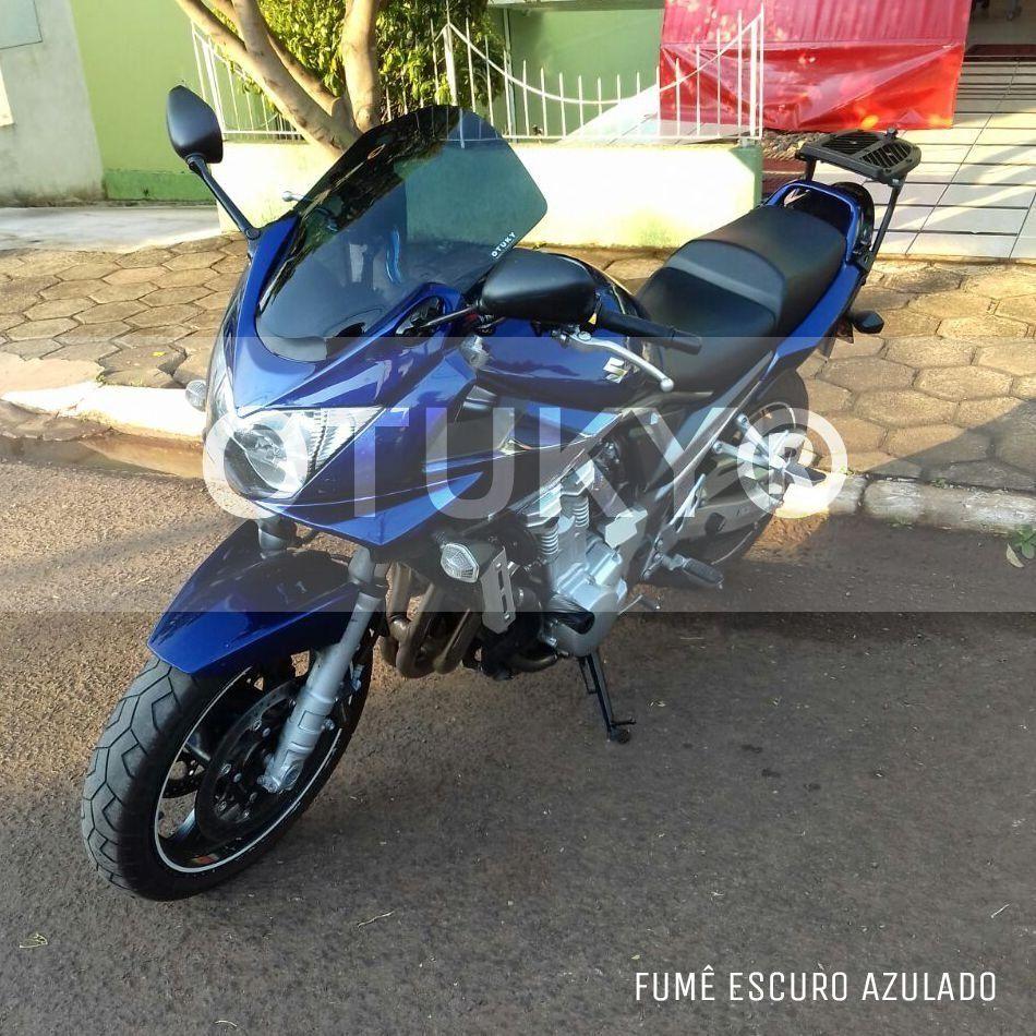 Bolha / Parabrisa Modelo Otuky Alongada em Acrílico Carenada - Bandit 650 - Suzuki 2005 até 2010