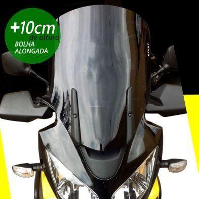 Bolha / Parabrisa Modelo Otuky Alongada em Acrílico - DL 650 / 1000 V-Strom - Suzuki 2004 até 2013