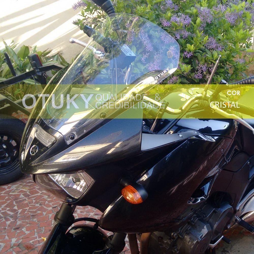 Bolha / Parabrisa Modelo Otuky Alongada em Acrílico - TDM 900 - Yamaha 2002 até 2008