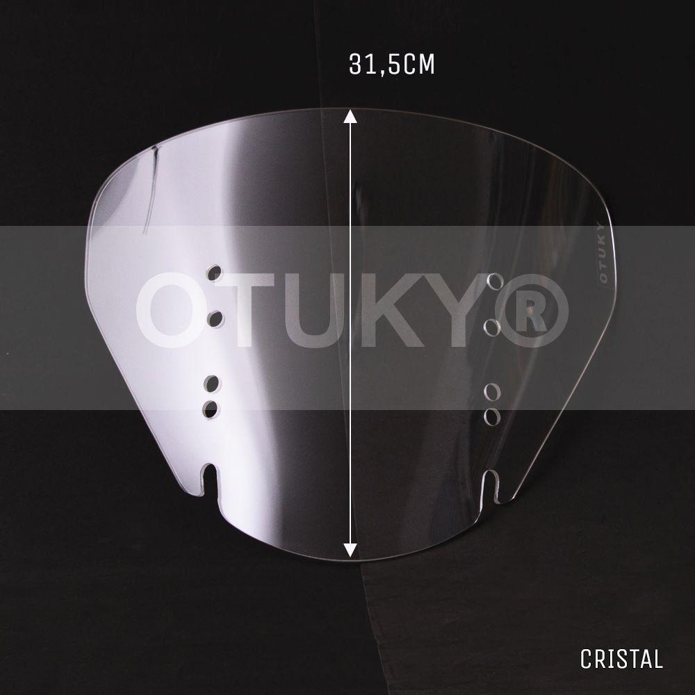 Bolha / Parabrisa Modelo Otuky Mini em Acrílico - DL  650 / 1000 V-Strom - Suzuki 2004 até 2013