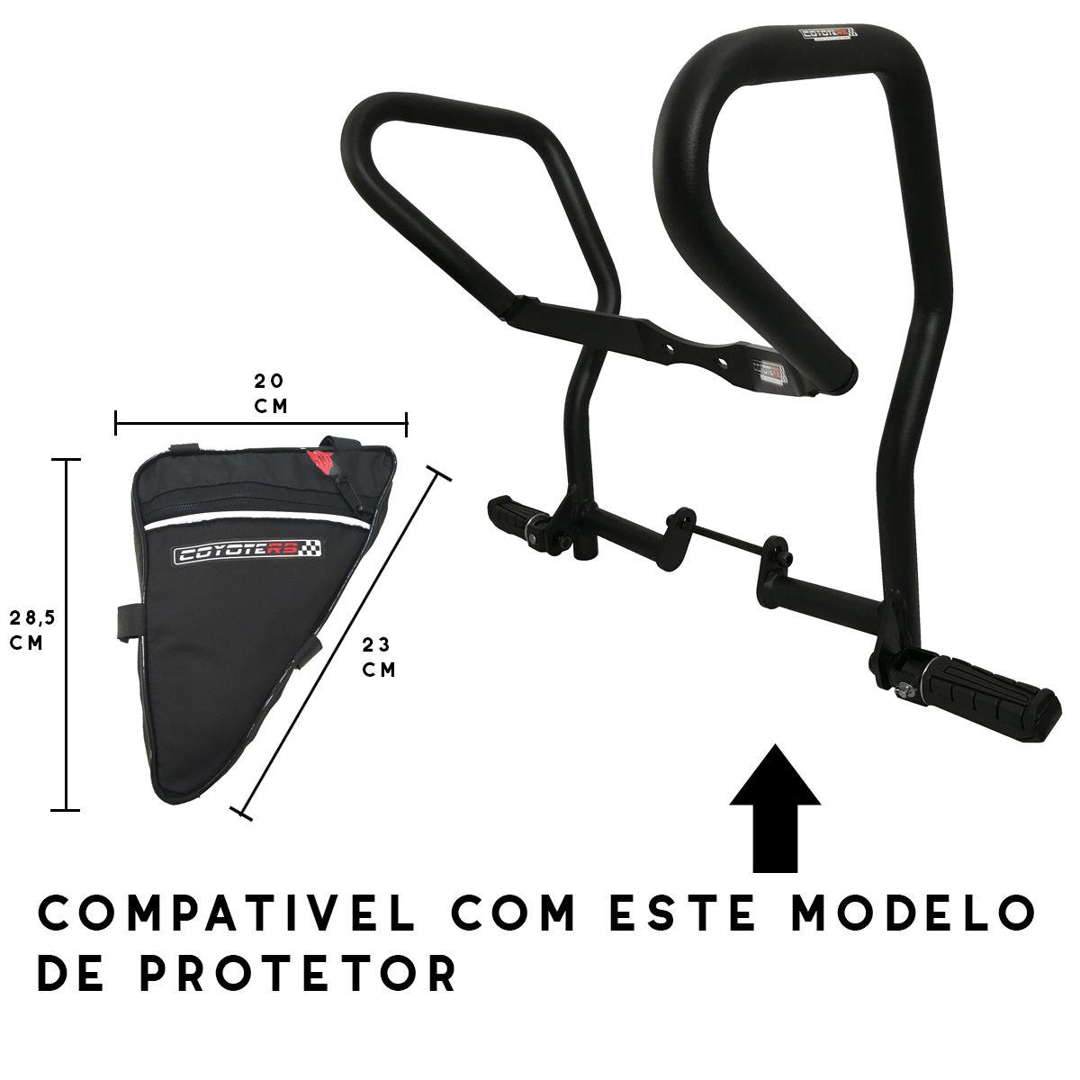 Bolsa em Nylon p/ Protetores de Motor e Carenagem Coyote - Modelo X