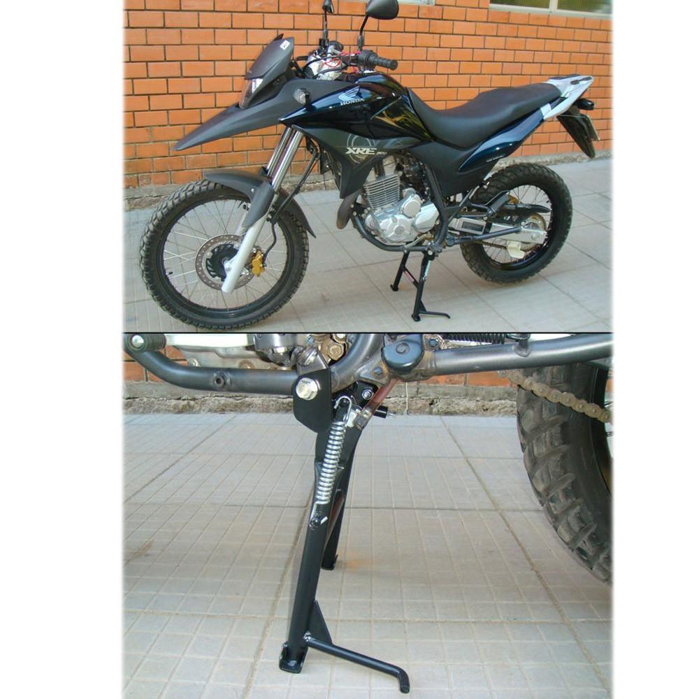 Cavalete / Descanso Central Chapam Preto - Bros NX-R 160 / XRE 190 - Honda