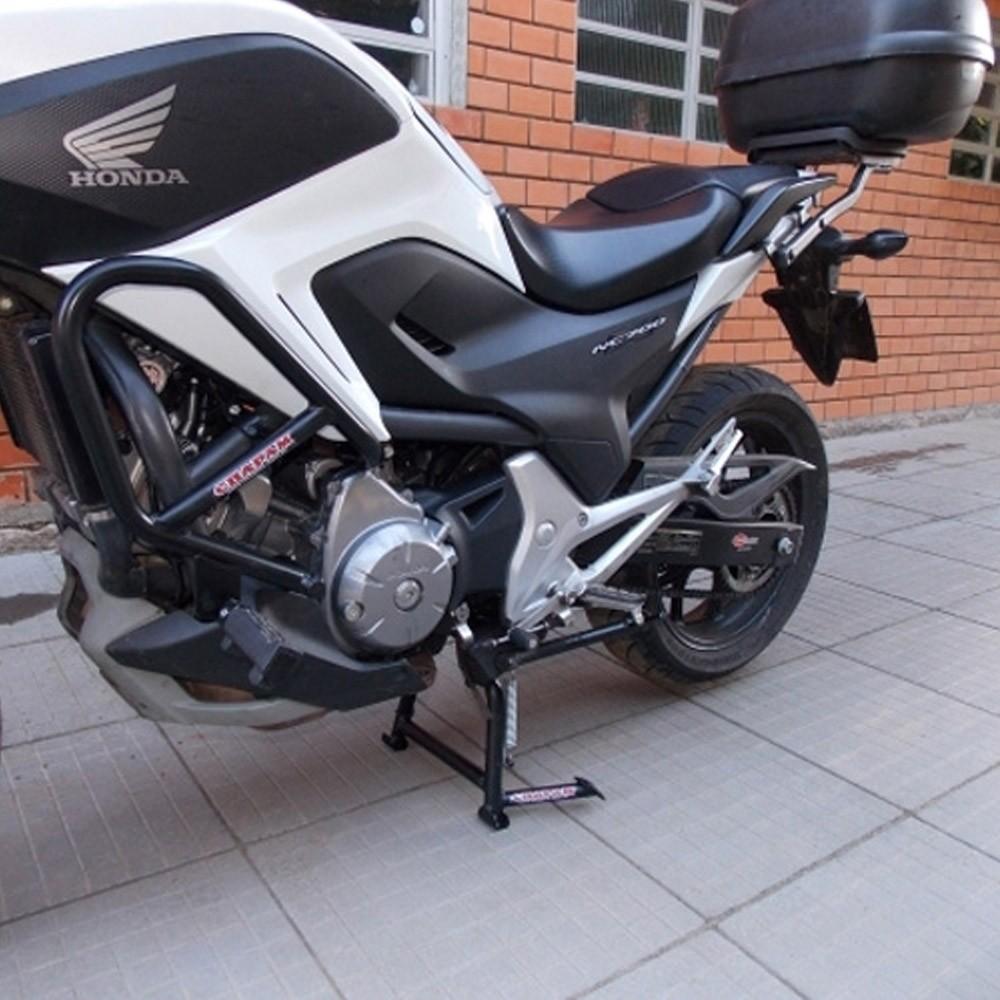Cavalete / Descanso Central Chapam Preto - NC 700 / 750 X - Honda