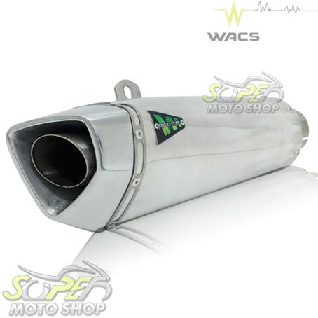 Escape / Ponteira Wacs Modelo Prime Alumínio - CB 600 / CBR 600 F Hornet 2008 até 2014 - Honda