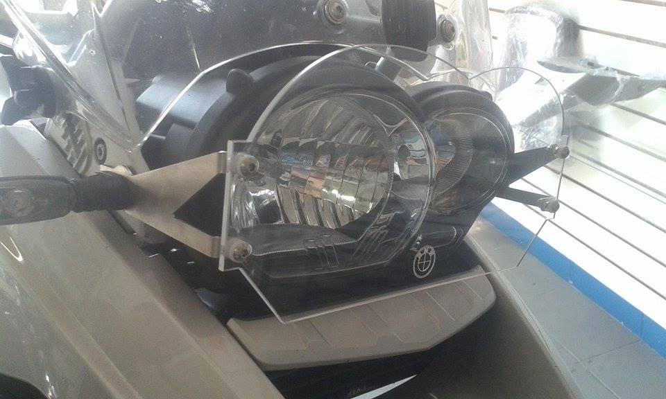 Protetor de Farol Criativa Acessórios Modelo Acrílico - R 1200 / 1250 GS / Adventure 2014 até 2020 - BMW