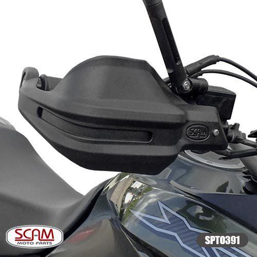 Protetor de Mão / Punho Modelo Scam - Bros 160 / XRE 190 - Honda