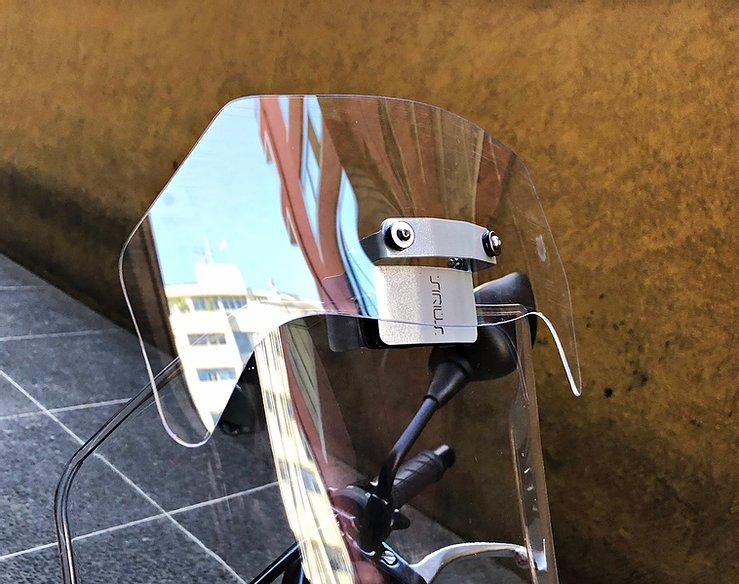 Defletor Drakar p/ Bolha Original Sirius CB5X - CB 500 X ano 2018 em Diante - Honda