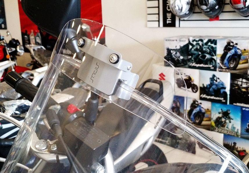 Defletor Drakar p/ Bolha Original Sirius RET - V-Strom DL 650 ano 2009/2016 - Suzuki