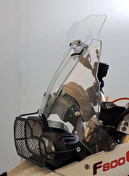 Defletor Drakar para Bolha Original Modelo GS-800 Sirius - F 800 GS - BMW