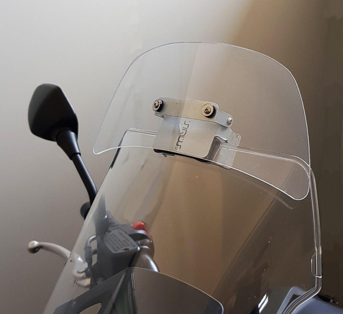 Defletor Drakar para Bolha Original Modelo S Sirius - Universal Para Motos