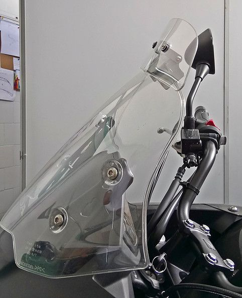 Defletor Drakar para Bolha Original Modelo Sirius S - Honda