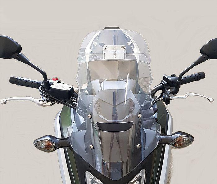 Defletor Drakar para Bolha Original Modelo Sirius ST - Honda