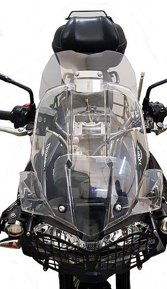 Defletor Drakar para Bolha Original Modelo Sirius TT800 - Tiger 800 XC / XR / XCx / XRx / XCa - Triumph