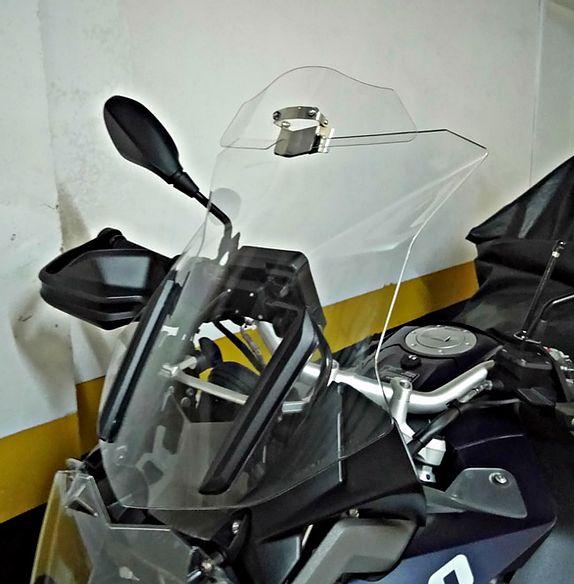 Defletor Drakar para Bolha Original Modelo Térus AD1200 - GS 1200 / 1250 R Adventure 2014 em Diante - BMW