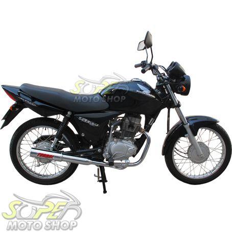 Escapamento Esportivo Modelo Torbal Colorido - CG 150 Titan KS/ES - Honda 2009 até 2013
