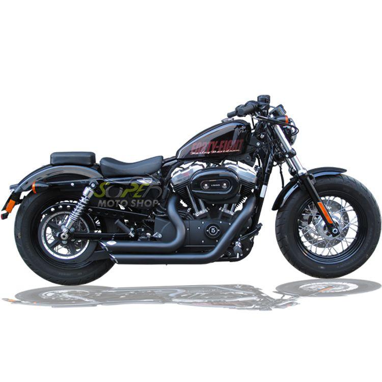 Escapamento Esportivo Torbal Modelo Short Shot Corte p/ Baixo - HD Sportster XL 883 2014 em diante- Harley Davidson