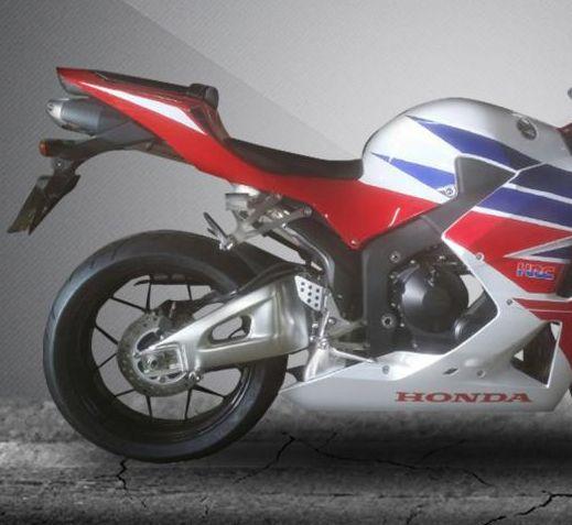 Escape / Ponteira Firetong Estilo Original + Eliminador de Rabeta - CBR 600 RR ano 2008 até 2013 - Honda