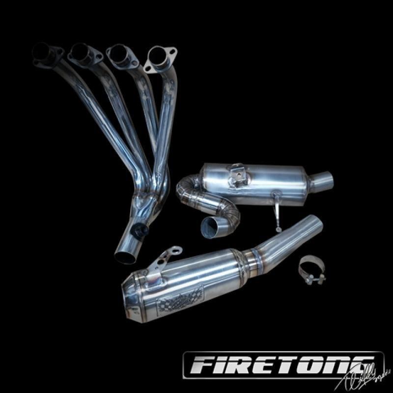 Escape / Ponteira Firetong Flame II em Inox - Versys 1000 ano 2013 até 2018 - Kawasaki