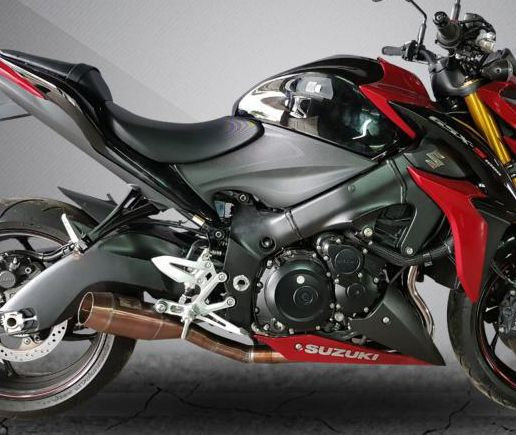 Escape / Ponteira Firetong Modelo Flame em Inox - GSX-S 1000 - Suzuki