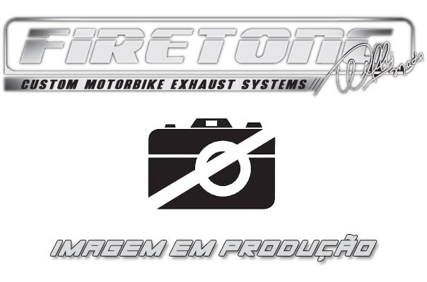Escape / Ponteira Firetong Modelo Flame II em Inox - Daytona 675 ano 2013 até 2017 - Triumph