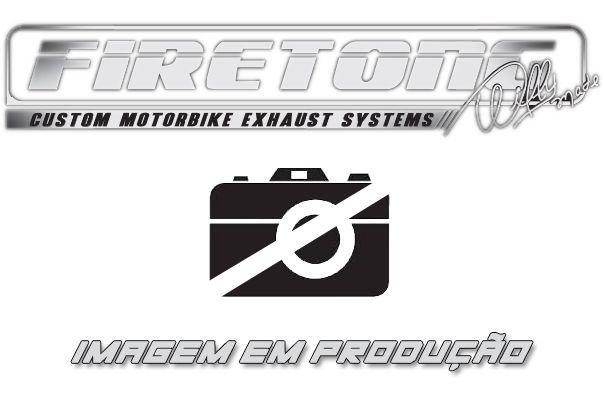 Escape / Ponteira Firetong Modelo Flame II em Inox - GSX-R Srad 1000 ano 2011 até 2013 - Suzuki