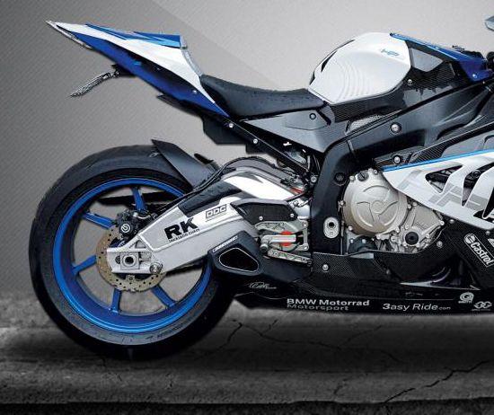 Escape / Ponteira Firetong Willy Made em Inox - S 1000 HP4 ano 2014 até 2016 - BMW