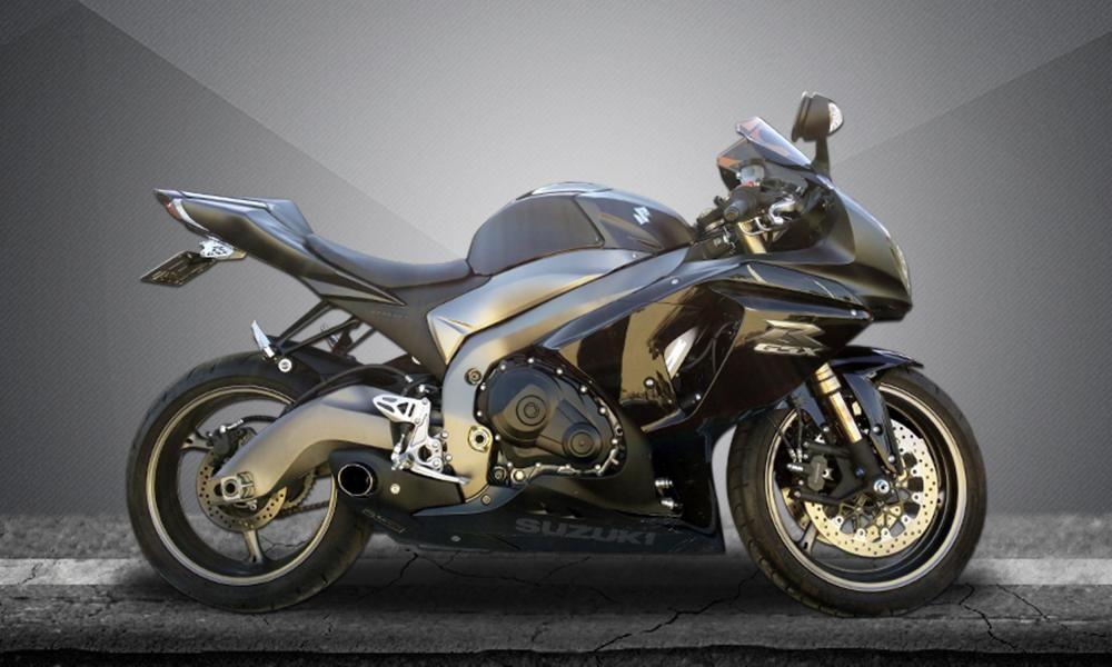 Escape / Ponteira Firetong Willy Made em Inox - Srad GSX-R 1000 ano 2011 até 2013 - Suzuki