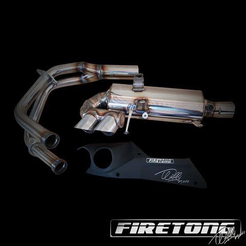 Escape / Ponteira Firetong Willy Made em Inox - Vulcan 650 S - Kawasaki