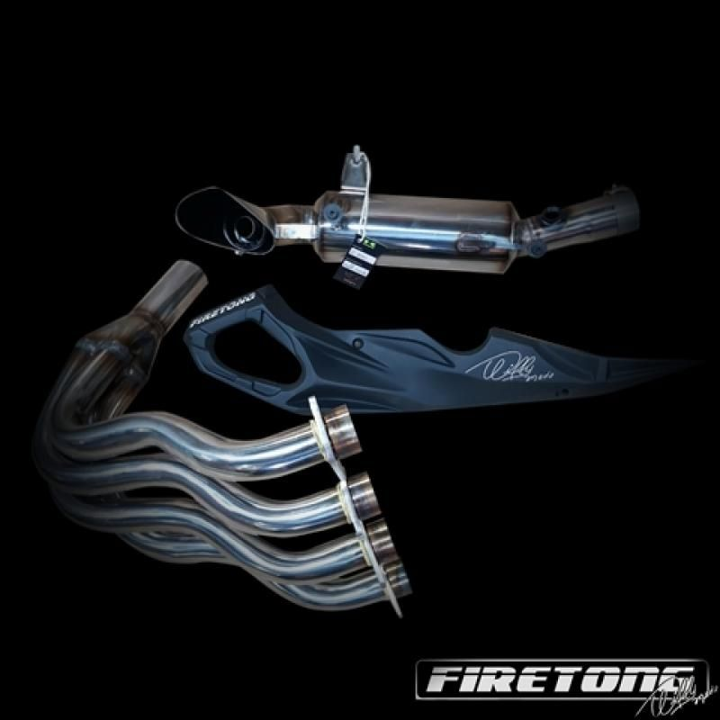 Escape / Ponteira Firetong Willy Made em Inox - Z-900 - Kawasaki