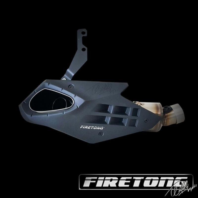 Escape / Ponteira Firetong Willy Made em Inox - ZX-10R ano 2012 em Diante - Kawasaki