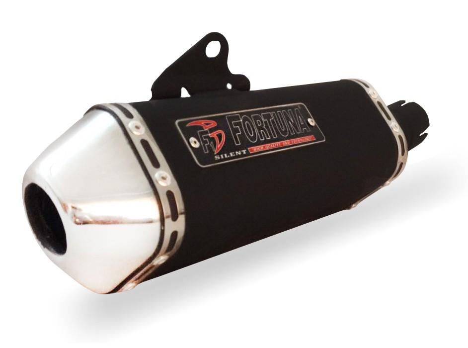 0b4a5cfc74b78 Escape   Ponteira Fortuna Modelo F1 MINI Tri - CB 300 R - Honda ...