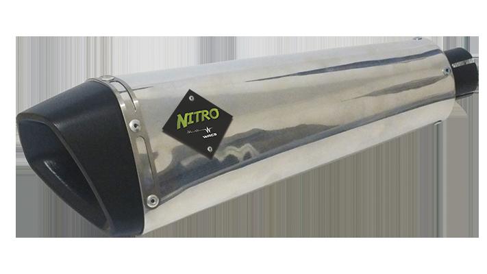 Escape / Ponteira Wacs Modelo Nitro Alumínio - Fazer 250 ano 2009 até 2015 - Yamaha