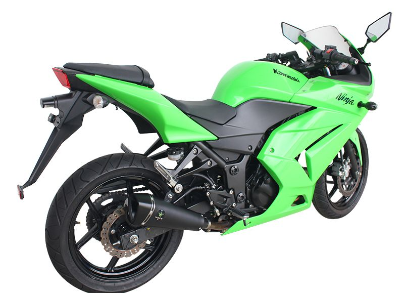 Escape / Ponteira Wacs Modelo Nitro Alumínio - Ninja 250 / 300 R - Kawasaki