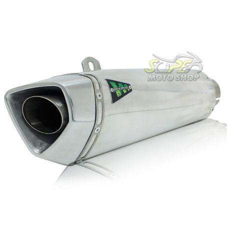 Escape / Ponteira Wacs Modelo Prime Alumínio - CB / CBR 500 R F X ano 2013 até 2015 - Honda