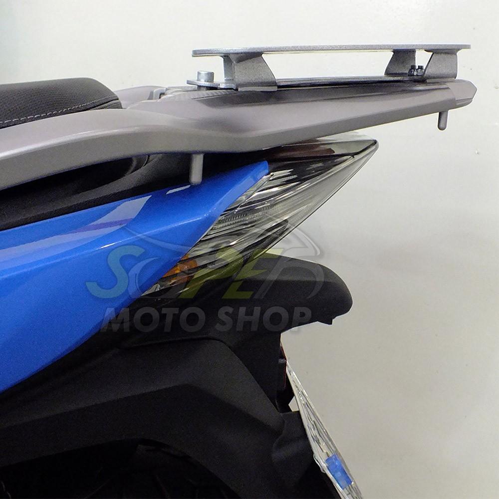 Kit Bauleto / Bau Traseiro Givi 45 Litros + Bagageiro Scam - SH 150 - Honda