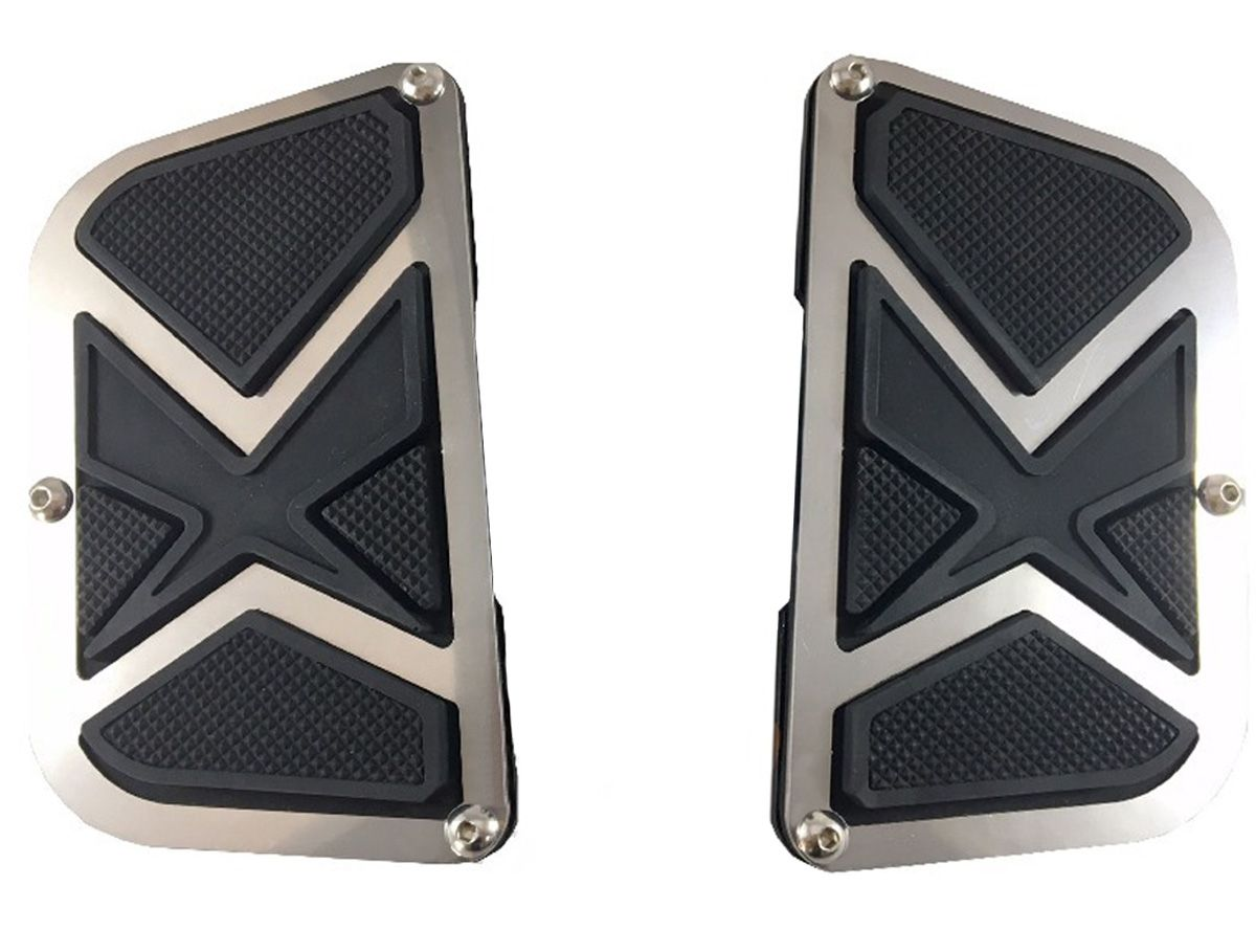 Plataforma Traseira JMX Fixa Modelo Fly (PAR) - HD Sportster XL 883 / 1200 - Harley Davidson