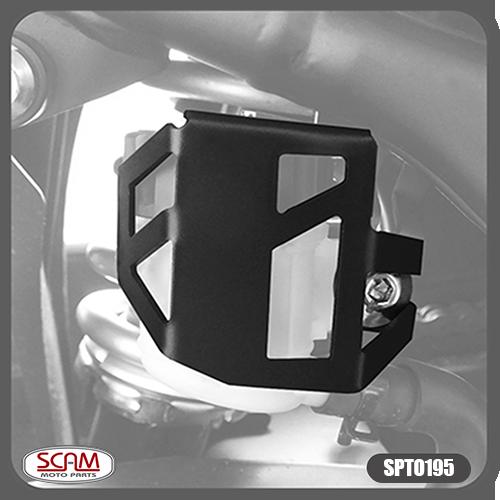 Protetor / Capa do Reservatório de Freio Traseiro Scam Preto - Versys 300 - Kawasaki