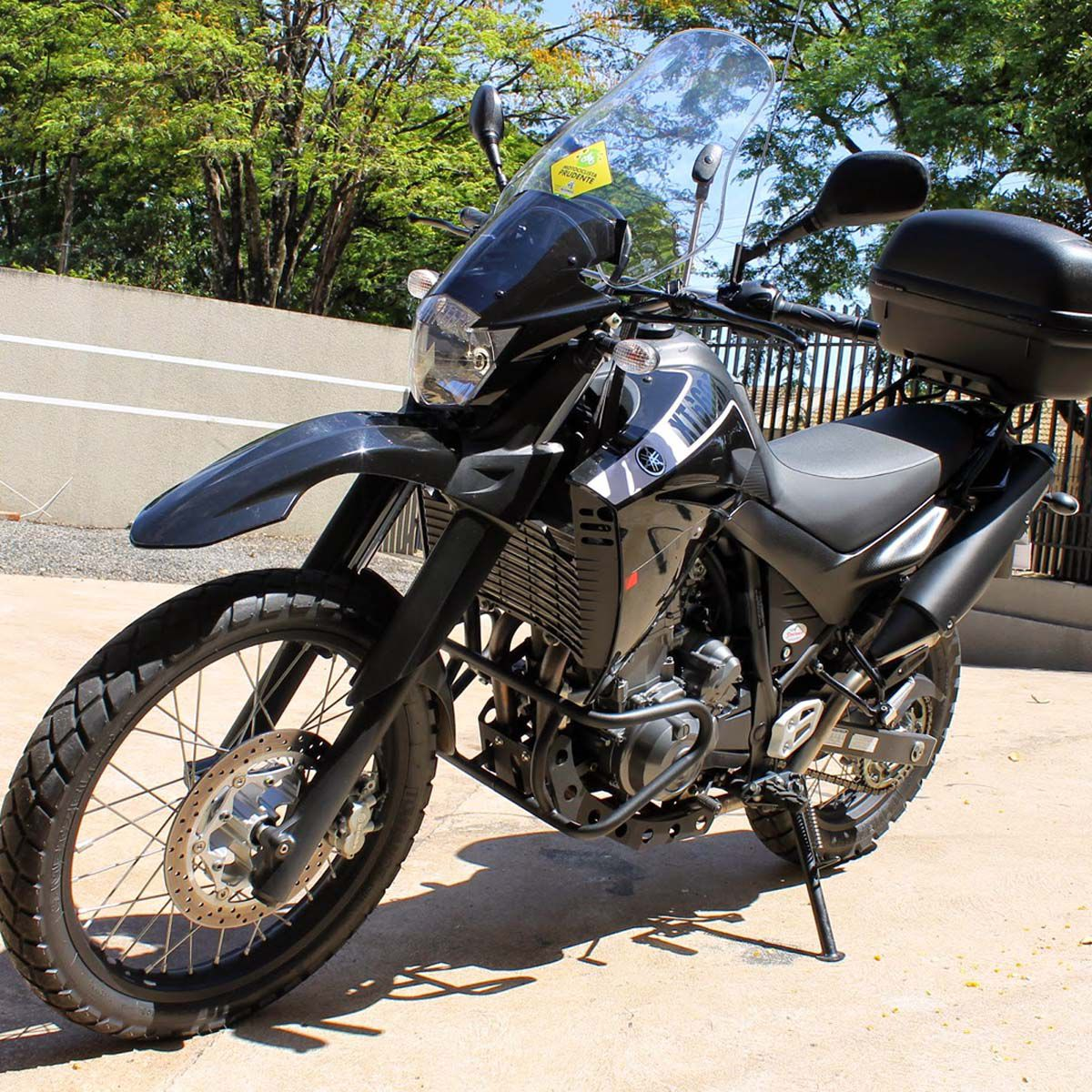 Protetor de Carter Coyote Preto - XT 660 R - Yamaha