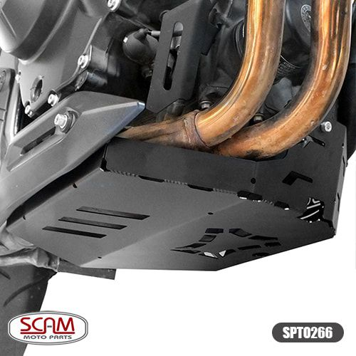 Protetor de Carter Scam Preto - CB 500 X ano 2018 em Diante - Honda