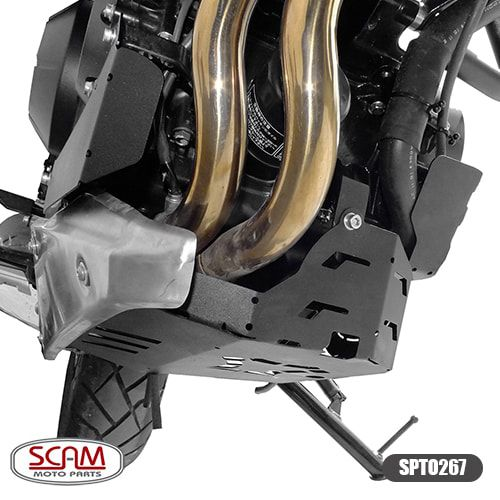 Protetor de Carter Scam Preto - CB 500 X até 2017 - Honda